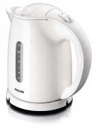 Akcija! PHILIPS Tējkanna 1.5l 2400W  balts HD4646/00
