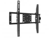 """32-52"""" TV stiprinājums pie sienas 45kg,15° regulējams slīpums, melns KB-01-54"""