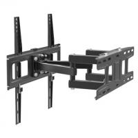 TV stiprinājums pie sienas 26-55 collas, līdz 35kg, melns REDOX 35