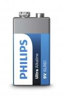 PHILIPS baterija krona Ultra Alkaline  9V 6LR61E1B/10